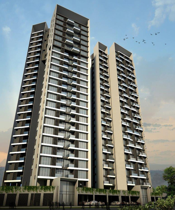 Residential apartments in gift city for sale price 4500 sq ft 3d views of residential towers in gift city negle Choice Image