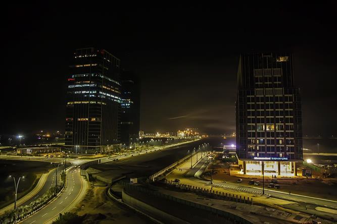 News updates construction progress for wtc gift city gujarat gift city gujarat night view negle Gallery
